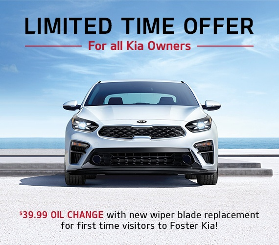 Limited time offer for all Kia Owners